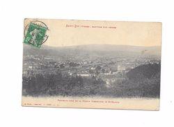 SAINT DIE  PANORAMA  PRIS  DE LA MAISON FORESTIERE DE ST MARTIN - Saint Die
