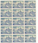 TOURS, Grande Semaine 1938 - Bloc De 15 Vignettes - Erinnophilie