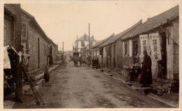 Chine, Che-Fou, Une Rue, 1931     (bon Etat)  Dim: 13 X 8. - Lugares