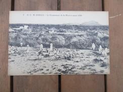 CPA SOMALIE CAMPEMENT DE LA MISSION AVANT 1910 - Somalia