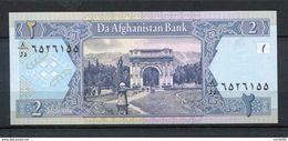 AFGHANISTAN 2 AFGHANIS 2002 PICK 65 BILLET NEUF UNC - Afghanistan