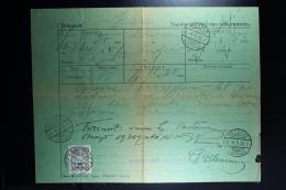 Latvia : Telegraphic Money Order 1930 Rositten Ludsen - Lettland