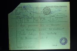 Latvia : Telegraphic Money Order 1929 Riga - Latvia