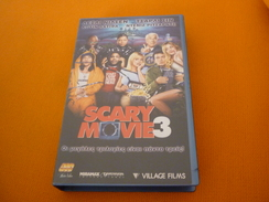 Scary Movie 3 Old Greek Vhs Cassette From Greece - Autres