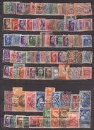 6857- Lotto Regno Usato – Circa 600 Euro Di Valore Di Catalogo Sassone - Sammlungen