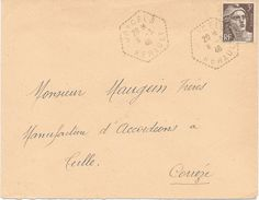 Agence Postale Joncel Herault - Manual Postmarks