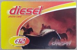 Pays - Bas Carte Prépayée Diesel  Code Gratté - Pays-Bas