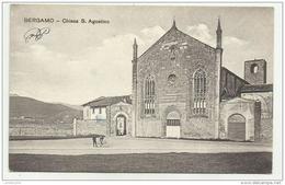 BERGAMO - CHIESA DI S.AGOSTINO NV FP - Bergamo