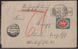 DR Rohrpostbrief Mif Minr.22x 102,109 Berlin 4.12.19 - Deutschland