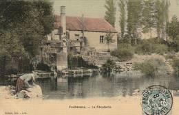 Vouhenans - La  Féculerie - Carte Toilée  - Scan Recto-verso - Andere Gemeenten