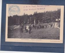 FONT - ROMEU  ( PYR - ORIENTALES )  Procession Dans Le Bois - Autres Communes