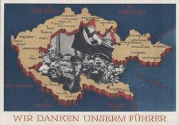 DR Ganzsache Minr.P275 Zfr. Minr.684,685 Coswig 17.12.38 Gel. Nach Danzig - Deutschland