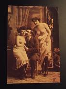 CP - JEUNES FEMMES TRIO SEINS NUS - CLAUDI UND MARIANNE - EDITION MICHEL +Co - FOTOGRAPHIC COLLECTION - Nus Adultes (< 1960)