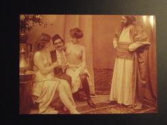 CP -- JEUNES FEMMES SEINS NUS -GROUPE ORIENTALISTE - LEILA ET YASMINA  - Collection / BELLE EPOQUE ! - Nus Adultes (< 1960)
