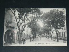 ANTIBES  1910  RUE CHAMPIONNET     CIRC EDITEUR - Antibes - Oude Stad