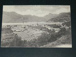 SAINT MARTIN DU VAR / ARDT NICE   1910  LES USINES DE BRIQUETTERIES    CIRC EDITEUR - Antibes - Old Town