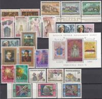 LIECHTENSTEIN  Jahrgang 1985 Postfrisch **, Komplett 866-892 - Liechtenstein