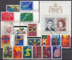 LIECHTENSTEIN  Jahrgang 1967 Gestempelt, Komplett 474-494 - Liechtenstein