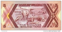 UGANDA 5 Shillings 1987  *UNC* P-27 - Uganda
