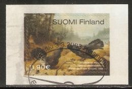 Finland 2003 Mi# 1648 Used - Fighting Wood Grouses, By Ferdinand Von Wright - Used Stamps