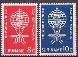 Suriname NVPH Nr 384/385 Postfris/MNH - Suriname ... - 1975
