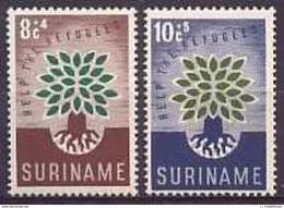 Suriname NVPH Nr 345/346 Postfris/MNH - Suriname ... - 1975