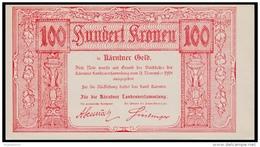 Austria 100 Kronen 1918 UNC - Austria