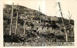 VIEIL ARMAND  ABRIS ALLEMAND CARTE SOUVENIR FRANCAIS - Guerre 1914-18