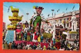 NEN-06  Carnaval De Nice  Les Découvertes De Pantagruel. Circulé 1957 - Carnaval