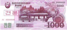 North Korea - Pick 64s - 1000 Won 2002 - 2009 - Unc - Specimen - Corée Du Nord