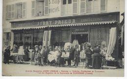 CPA 10 ( Aube ) - Grands Magasins JORRY PRIEUR - TROYES - Soieries, Confections Et Trousseaux - Vue Des Magasins .... - Troyes