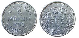 00986 GETTONE TOKEN JETON FICHA COMMEMORATIVE MOKUM 700 FLORIJN AMSTERDAM - Netherland