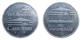 00992 GETTONE TOKEN JETON FICHA AMUSEMENT CENTER HET ARSENAL CARROUSEL ZEELAND - Pays-Bas