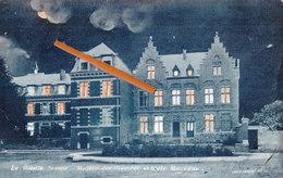LE ROEULX - La Nuit - Maison Des Vicaires Et Ecole Moyenne - Le Roeulx