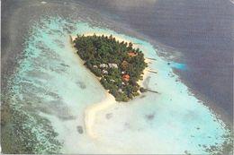 MALDIVES AERIAL VIEW OF ASDU SUN ISLAND 1985 - Maldive