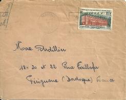 AEF 1959 Berberati >> Périgueux / Dos Déchiré - A.E.F. (1936-1958)