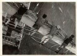 Ve 2 Scan   +- 11.50 * 9 CM  REAL PHOTOGRAPH BOAT BARCO  BOAT Voilier - Velero - Sailboat - Barche