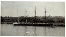 FALLS OF CLYDE   +- 14* 8.50CM  REAL PHOTOGRAPH BOAT BARCO  BOAT Voilier - Velero - Sailboat - Barcos