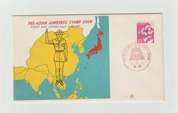 JAPON - FDC 1962 -SCOUTIME - Brieven En Documenten