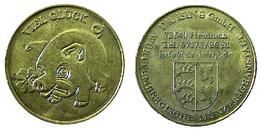 01195 GETTONE TOKEN JETON FICHA ADVERTISING COMMEMORATIVE VENDING VIEL GLUCK TALER DR. ISING - Allemagne