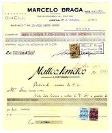 PORTUGAL, Receipts - Fiscaux