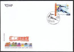 Croatia Zagreb 2002 / Olympic Games Salt Lake City / Alpine Skiing / FDC - Winter 2002: Salt Lake City