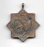 1870 20 SETTEMBRE 1908 COLONIA ITALIANA DEL PUEBLO DE TORNQUIST REPUBLICA ARGENTINA RARISIME MEDAGLIA ESCUDOS ITALIA Y A - Firma's