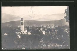 Cartolina Golasecca, Panorama Mit Kirche - Italia
