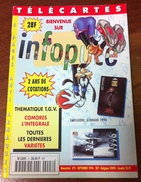 UNE REVUE INFOPUCE N°8 DE 1996 SUR LES TÉLÉCARTE & GSM DE FRANCE & DU MONDE CARTES À PUCE CARTES INTERNET ETC CARD - Phonecards