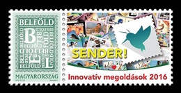 Hungary 2016 Mih. 5567V Innovative Solutions. Mobile Application Sender! MNH ** - Hungary