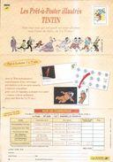 Tintin-pub La Poste Pret à Poster-2003 - Publicités