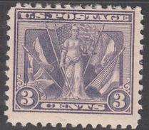 UNITED STATES     SCOTT NO. 537   MINT HINGED   YEAR  1919 - United States