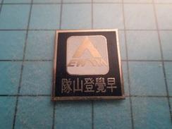 Pin812c Pin's Pins : BEAU ET RARE : TRUC CHINOIS OU JAPONAIS EWTM  , Marquage Au Dos : - ---- - - Markennamen