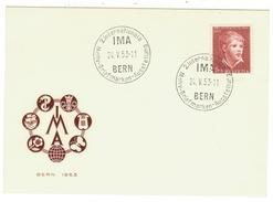 Suisse // Schweiz // Switzerland //  Pro-Juventute  // Carte Cachet IMA 24.05.1953 - Lettres & Documents